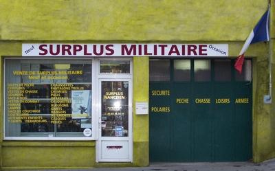 Votre magasin de surplus militaire Nancy, Toul et